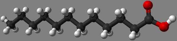 Lauriinhappe keemiline ehitus