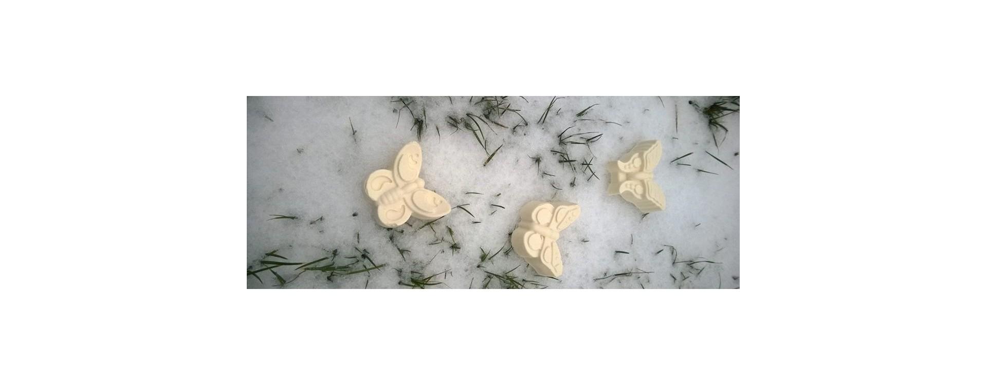 Valgemast valgem liblikaseep